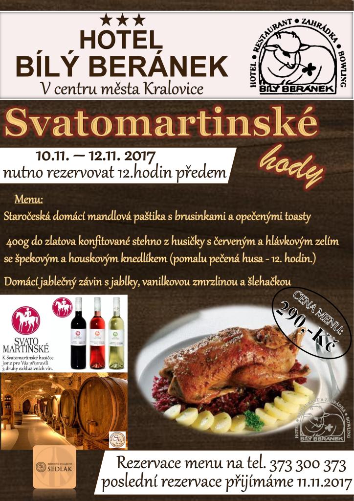 Svatomartinské menu plakát 2017 (1)
